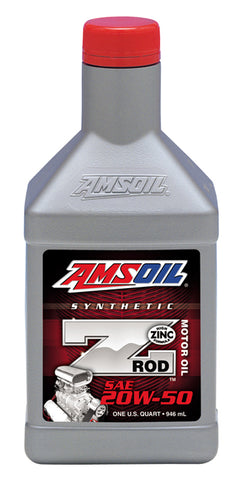 Z-ROD 20W-50 Synthetic Motor Oil
