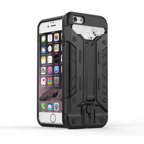 Black Shockproof Hard Back Case