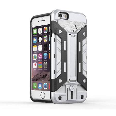 Silver Shockproof Hard Back Case