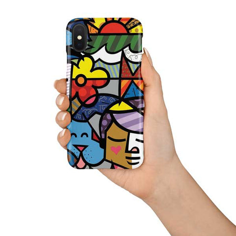 Abstract Colorful Design Phone Case Cover