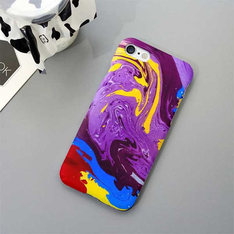 Abstract Purple Design Phone Case