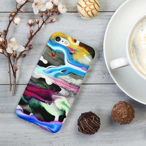 Abstract Tie Dye Color Phone Case