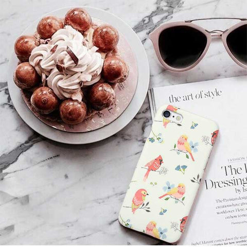 Bird Pattern Design Phone Case
