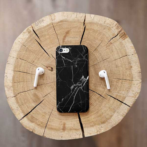 Black Marble iPhone Case Cover