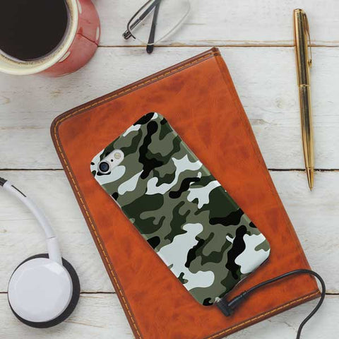Camouflage Design Phone Case Cover