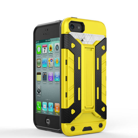 Yellow Shockproof Hard Back Case