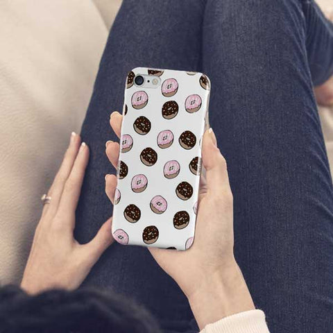 Donut Pattern Design Phone Case