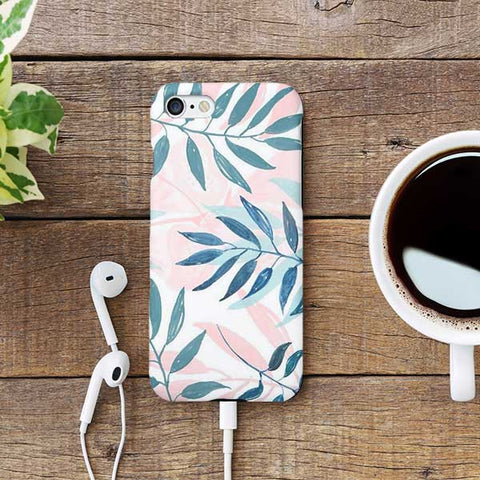 Floral Design Phone Case
