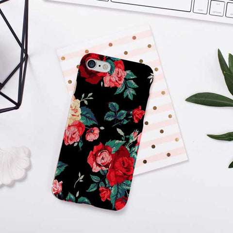 Rose Floral Design Phone Case Cover