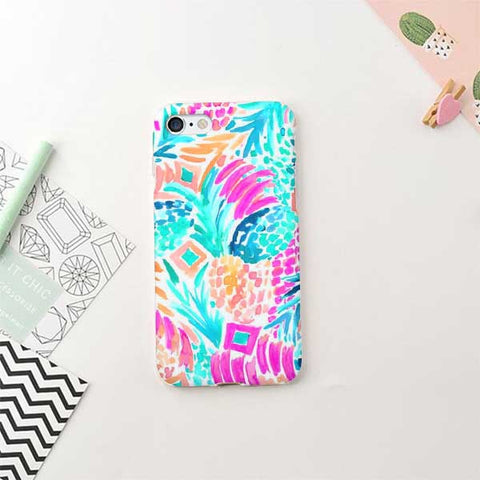 Summer Pattern Design Phone Case