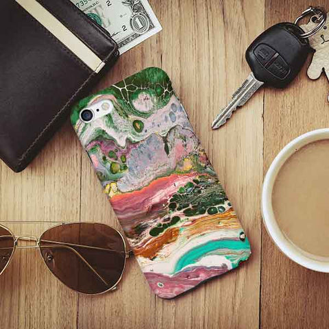 Abstract Marble Phone Case