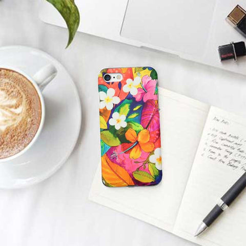 Flower Pattern Design Phone Case