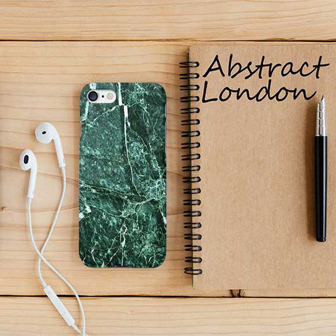 Green Marble Design Phone Case