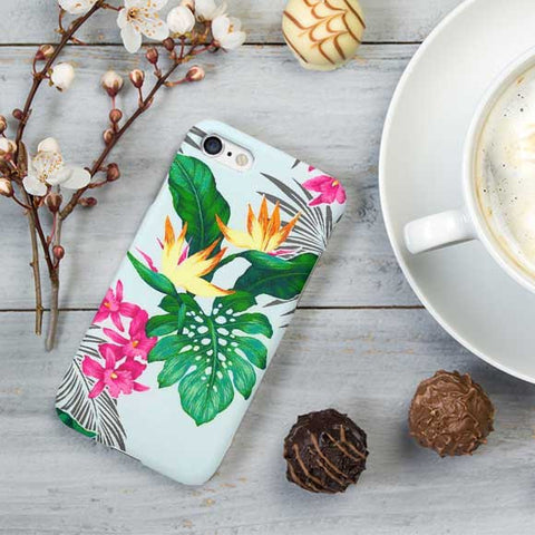 Floral Design iPhone Case