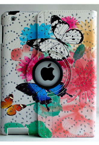 Colorful Butterfly iPad Case