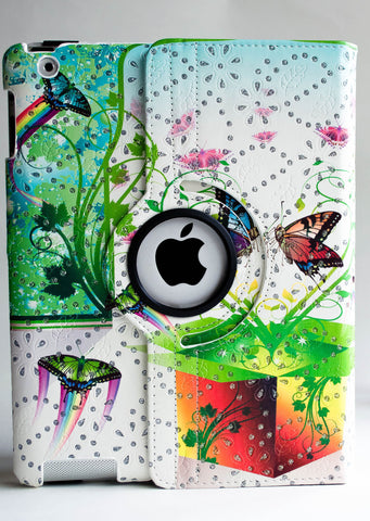Green Butterfly iPad Case