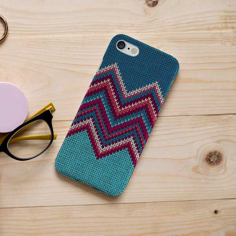 Knitted Pattern Design Print Phone Case