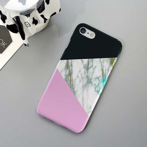 Pastal Marble Phone Case Cover