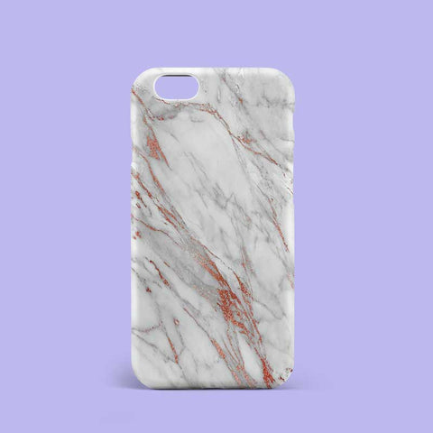 Rose Gold Marble Phone Case Cover