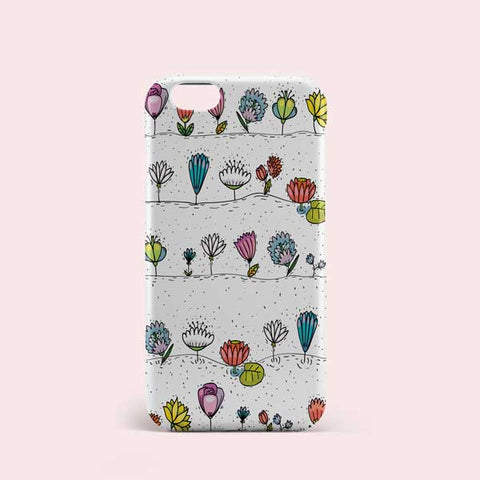 Seamless Flower Pattern Phone Case