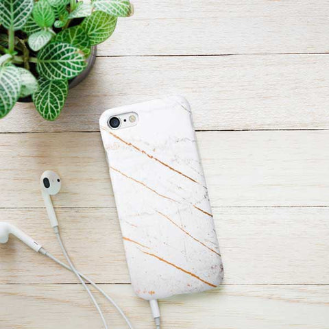 Gold Marble Design Phone Case