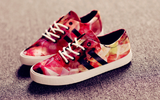 Womens Printed Cool Canvas Casual Shoes