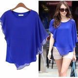 Lovely Casual Chiffon Blouse Top