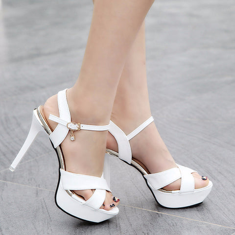 Cute Charming Open Sandal Casual Low Heels