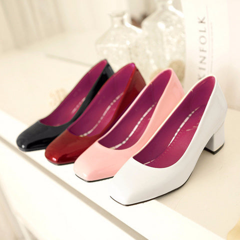 Lovely Flat Toe Classy Work Low Heels