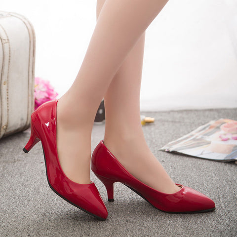 Womens Office Low Heels