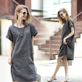 Womens Stylish Pullover Top Casual Dress