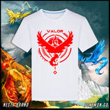 Pokemon Go Team Mystic Valor Instinct Logo T-Shirt