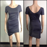 Trendy Womens Casual Slim Hip Pencil Dress