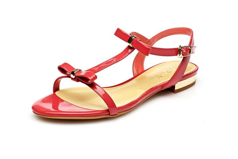 Womens Cute Bow Sandals