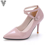 Womens Pointed Toe Pumps Sexy Thin Heels High Heels