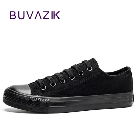 Womens Black Lace Up Casual Canvas Lace Up Shoes