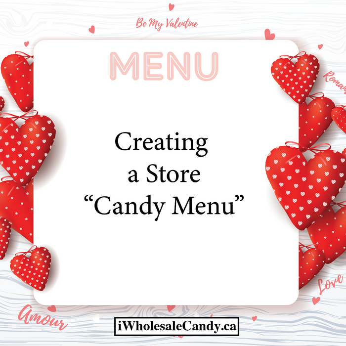 Creating a Store 'Candy Menu'