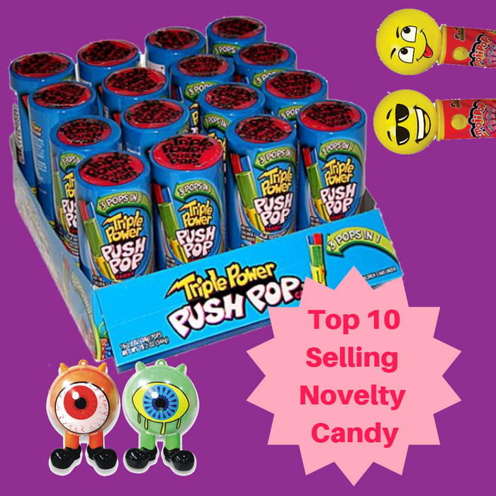Top 10 Selling Novelty Candy-i Wholesale Candy