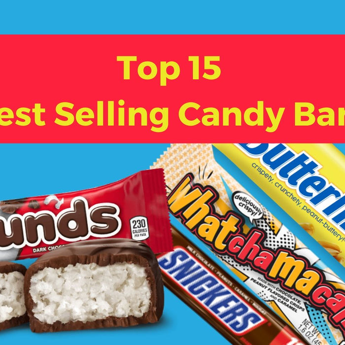 Top 15 Best Selling Candy Bars-Wholesale Candy