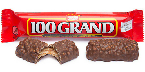 100 Grand American Chocolate Bars Wholesale Candy Canada