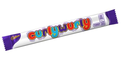 Cadbury Curly Wurly British Chocolate Bars