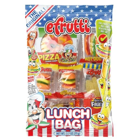 efruitti Gummi Candy Lunch Bag