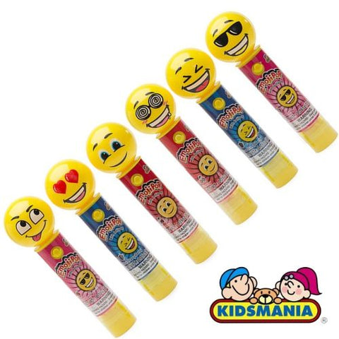 Kidsmania EmojiPop Lollipops-Best Selling Back to School Candies-iWholesaleCandy.ca