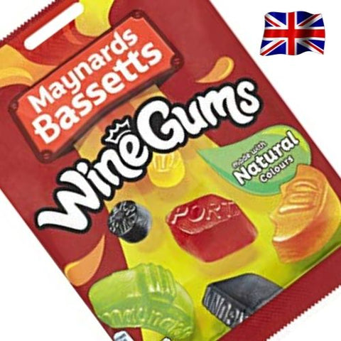 Maynards Bassetts Wine Gums British Confectionery