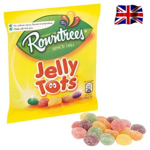 Rowntrees Jelly Tots British Confectionery