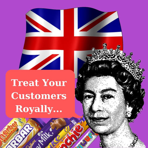 Treat your Customers Royally with British Candy, Confectionery and Chocolates