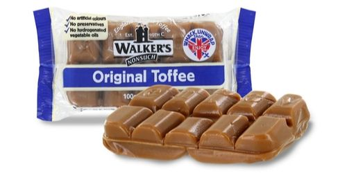 Walker's Nonsuch Original Toffee Bars British Candy