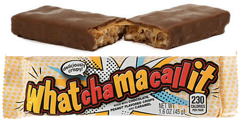 Whatchamacallit American Chocolate Bars Wholesale Candy Canada
