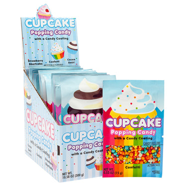 Cupcake Popping Candy .53oz - 20CT