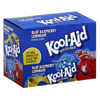 Kool-Aid Drink Mix Blue Raspberry Lemonade-48 CT